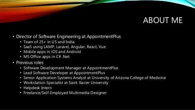 Progressing as a Software Developer Slide 2