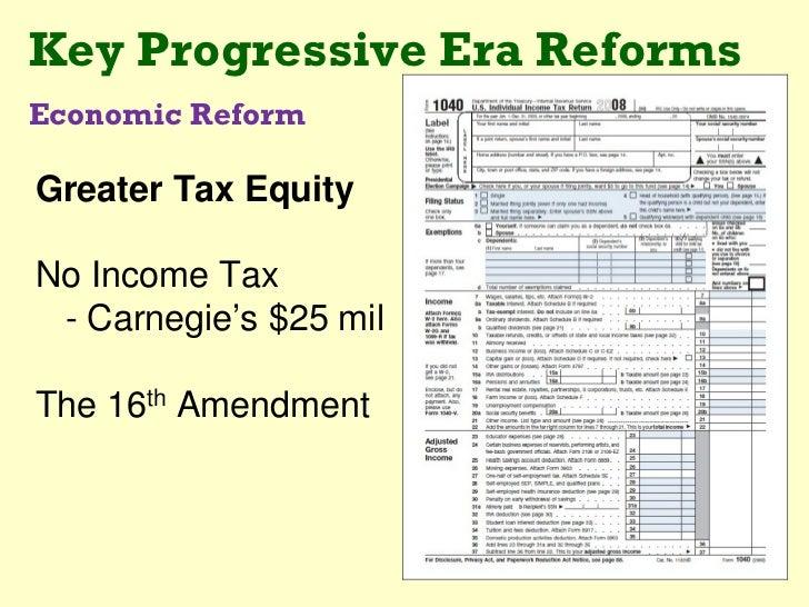 ... 33. Key Progressive Era ...