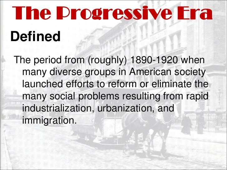 what had been progressivism