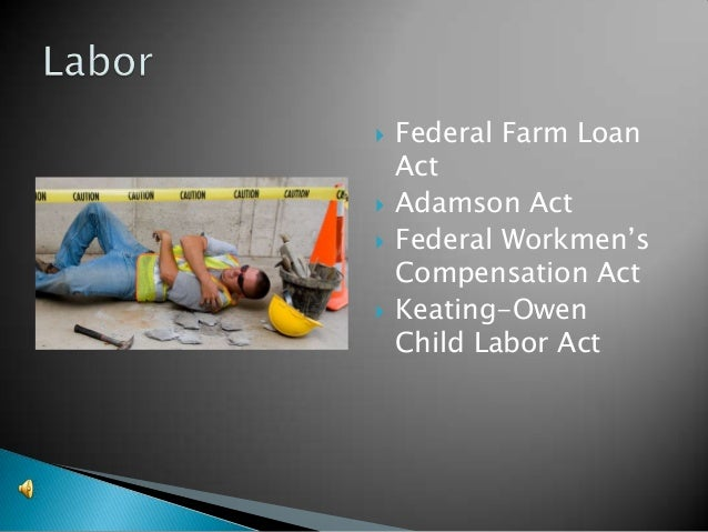 Federal Farm Loan Act The progressive presid...