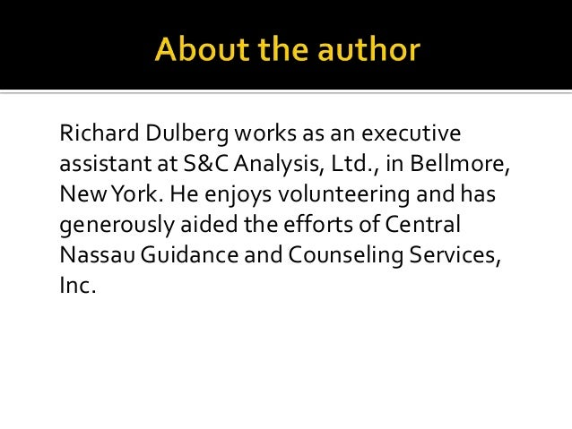 The Project Hope Crisis Counseling Program By Richard Dulberg