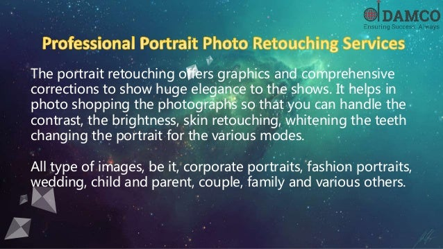 The Prominent Overview of Photo Retouching Services in the USA Slide 3