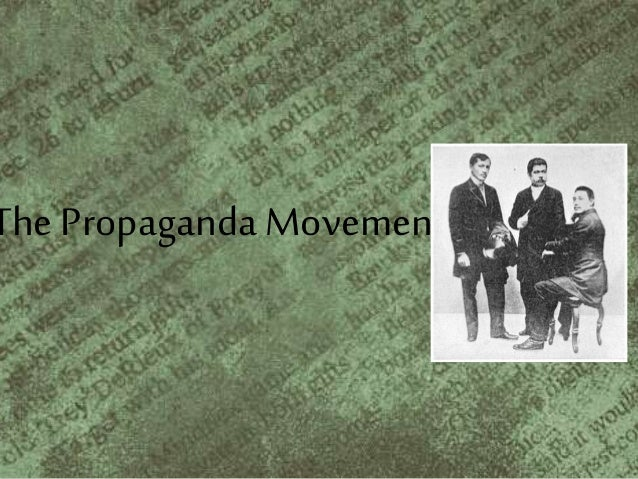 josè rizal and the propaganda movement essay In 1872 fathers jose burgos, mariano gomes and jacinto zamora, priests  whose names were identified with the movement to reform the.