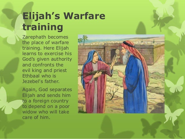 The prophet Elijah, a model of Seer