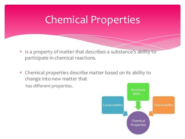 chemical and physical matter and its properties Test and improve your knowledge of 5th grade science: chemical & physical properties of matter with fun multiple choice exams you can take online with studycom.