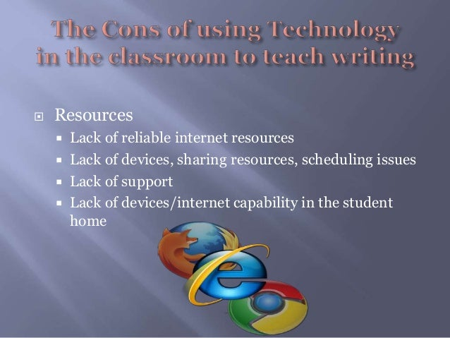 disadvantages of using technology in the classroom essay 2018-6-10  we wrap up the article with this portion as the conclusion of the article on using tech in the classroom  technology in the classroom  technology is a.