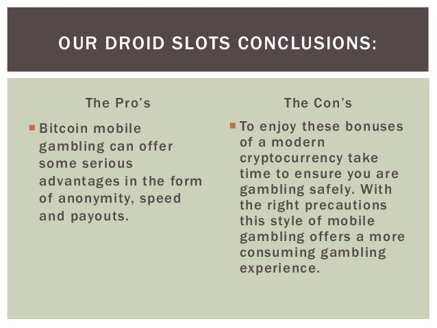 Pros and cons of legalizing casino gambling anthony casino