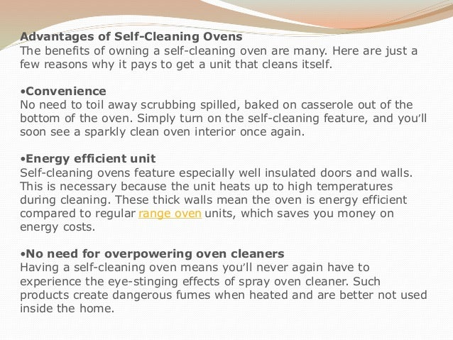 how to clean a non self cleaning oven