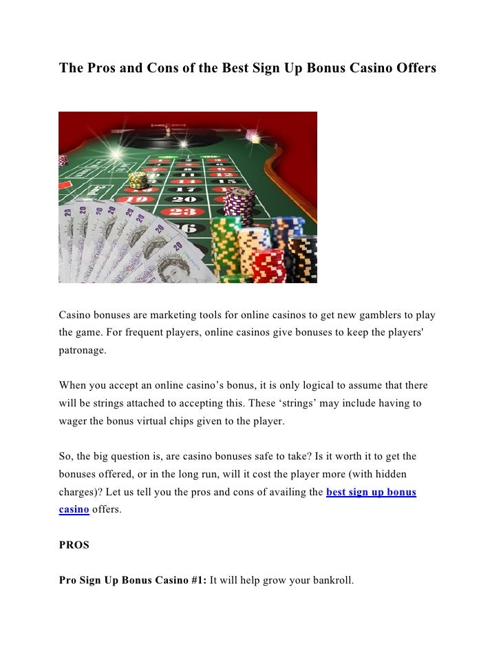 best online casino sign up offers
