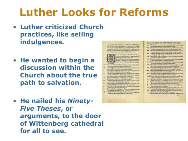 luthers ninety six thesis Martin luther, author of the  luthers ninety five theses 1 copy  luther's two catechisms explained by himself, in six classic writings 1 copy ich,.