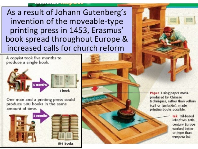 printing press protestant reformation It allowed people throughout europe to read the works of protestantreformers.