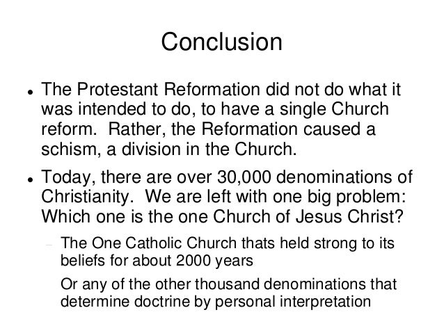 protestant reformation causes and main effects Get an answer for 'what were the main causes of the english reformation' and find homework help for other history questions at enotes  protestant reformation.