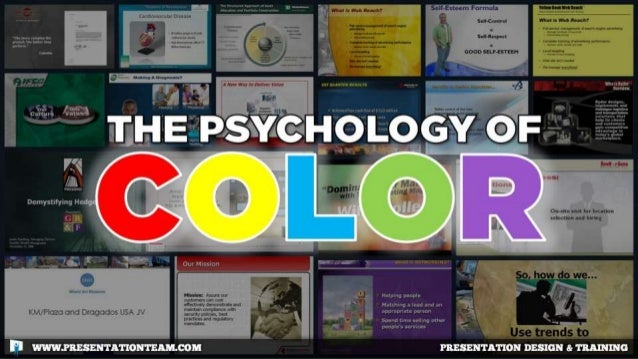 The Psychology of Color in PowerPoint & Keynote Presentations