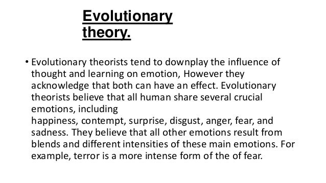 influence of darwins theory on modern psychology On the origin of species had an almost immediate impact on biological  the  modern synthesis, integrating genetics with the theory of natural  ecology,  human ethology, evolutionary psychology, darwinian anthropology,.