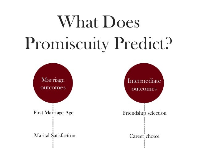 The Psychology Of Promiscuity