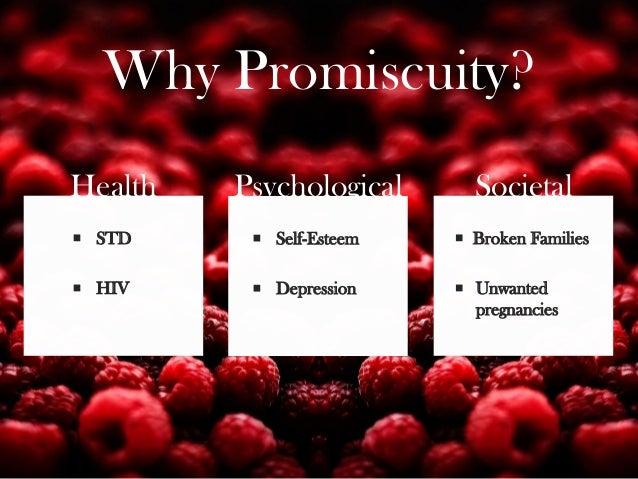 Promiscuity and self esteem