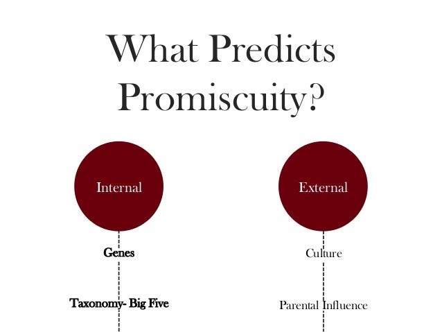 What does it mean to be promiscuous