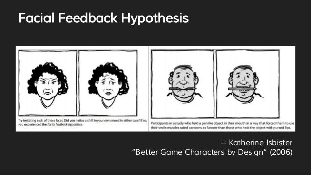 facial feedback hypothesis Psychology definition of facial feedback hypothesis: was first proposed  by us psychologists sylvan s tomkins (1911 - 1991) and.
