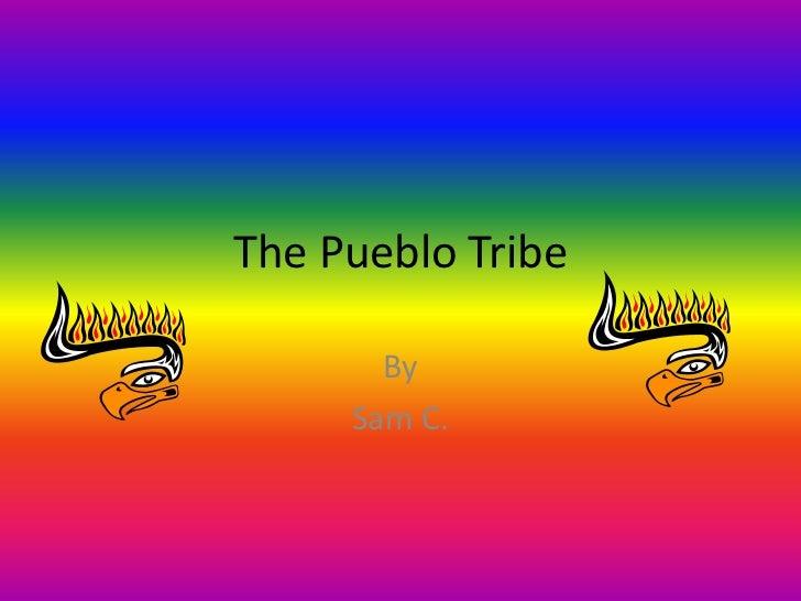 The Pueblo Tribe       By     Sam C.