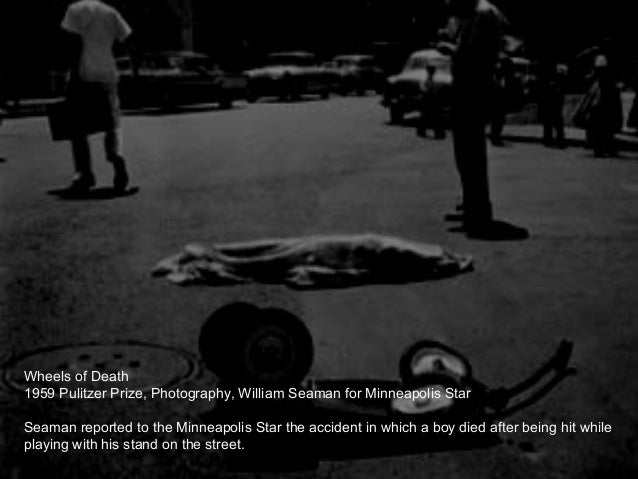 1959 Pulitzer Prize Photography William Seaman For Minneapolis Star Wheels Of Death 43