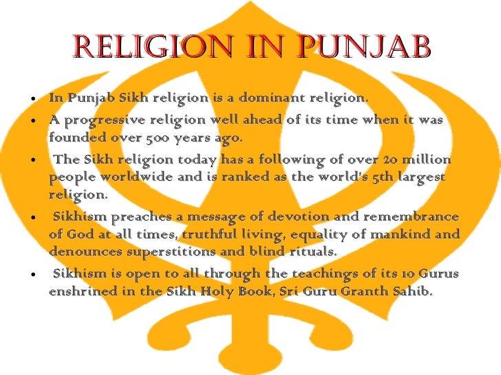 The punjab by pratik kashikar |Punjab Religion