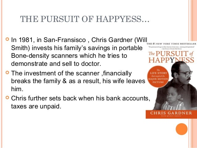 the pursuit of happiness narrative