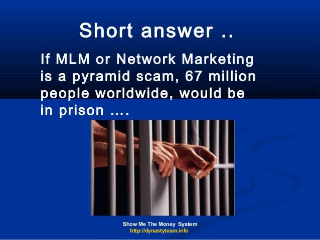 Conosciuto The Pyramid Myth Is MLM Network Marketing A Pyramid? JC11