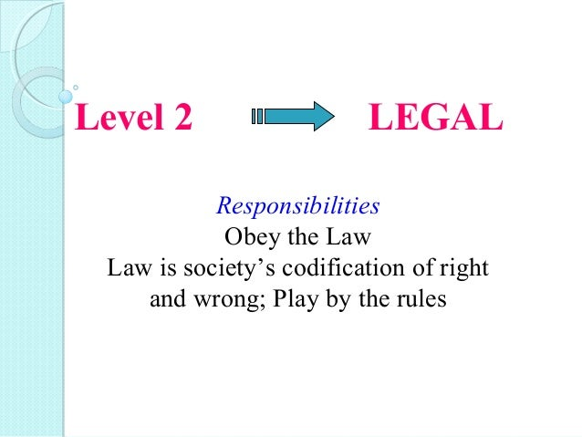 The Obligation to Obey the Law