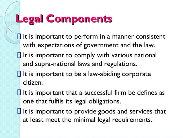 law and social responsibilities date Business ethics and social responsibility  whether in law or often in religion  no matter how fair and up-to-date is a set of policies, the legal system will .
