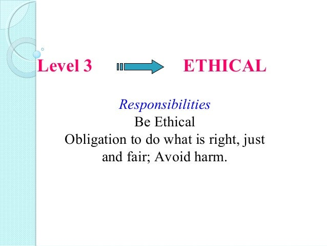 why ethical responsibilities go beyond legal Why computer games can be ethical,  considerations of the morality of computer games seldom go beyond  and the ethical responsibilities of.