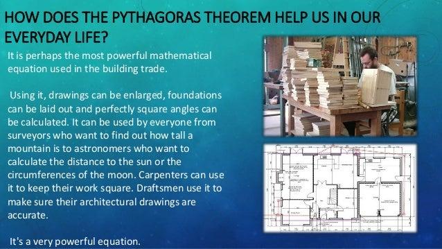 The Pythagoras Theorem Pythagoras Theorem Examples In Everyday Life