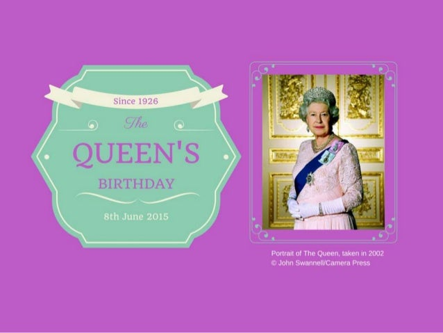 The queens birthday bookmarktalkfo Choice Image