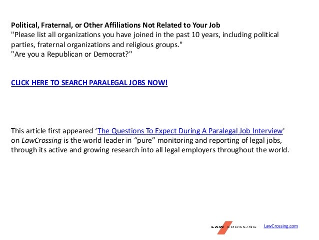 Why do you want to become a paralegal