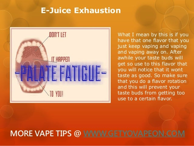 The quick and Dirty on What is Vapors tongue and how to cure it