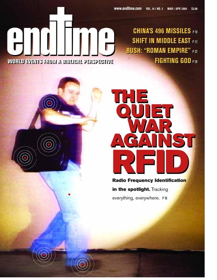 www.endtime.com   VOL. 14 / NO. 2      MAR / APR 2004   $3.00                                                        CHINA...
