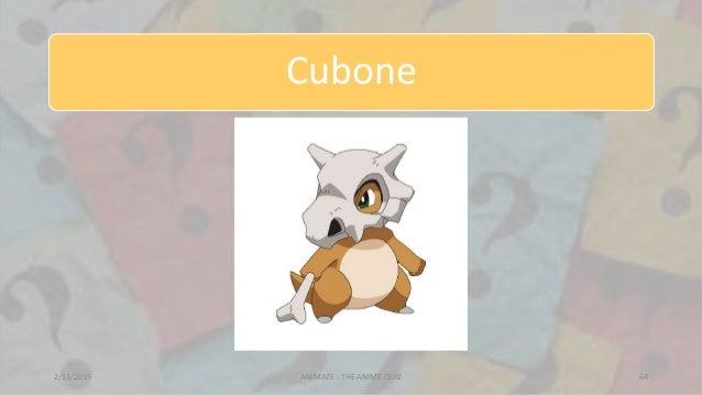 Cubone 2/13/2015 ANIMAZE : THE ANIME QUIZ 64