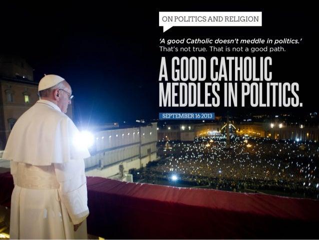 On  Politics  and  Religion