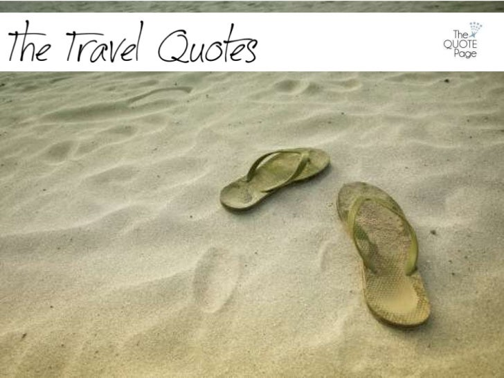 The Quote Page - The Travel Quotes