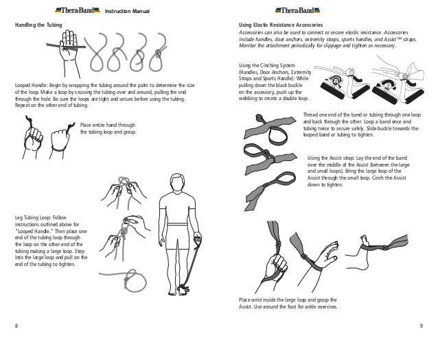 Thera Band Instruction Manual