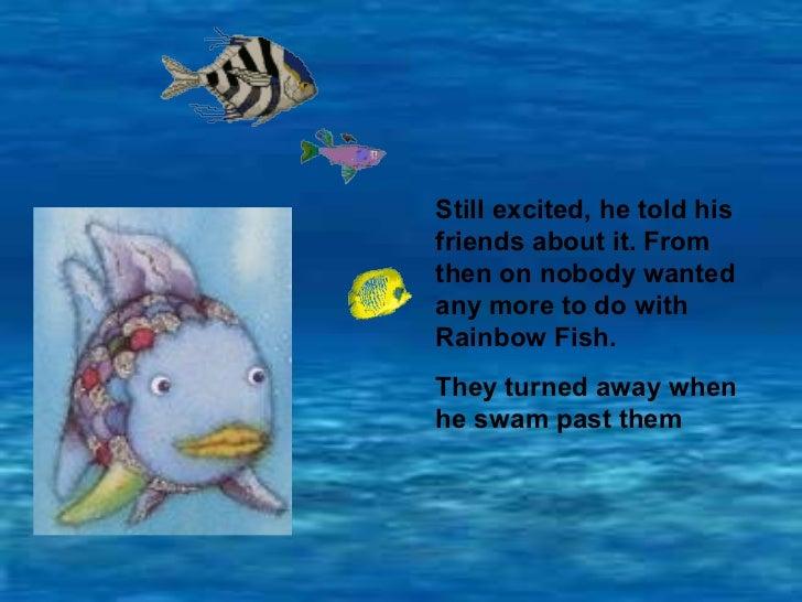 Therainbowfish story pp