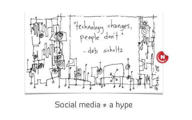 Social media ≠ a hype