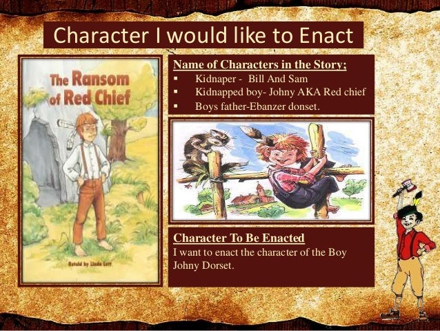 when was the ransom of red chief written