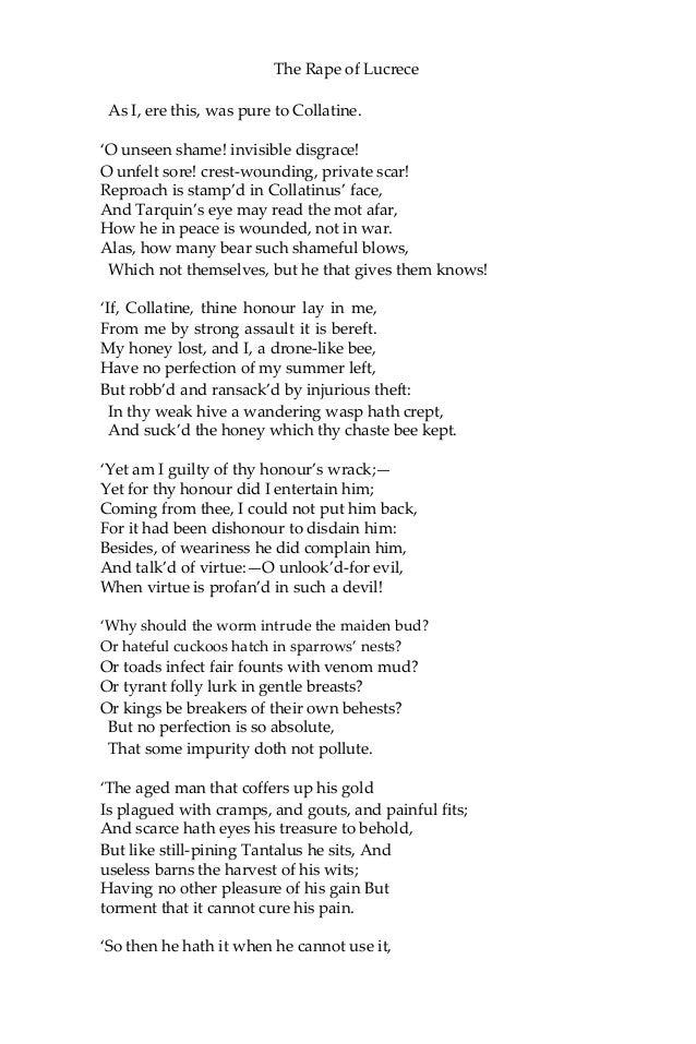 The rape of lucrece william shakespeare ebook 30 fandeluxe Document