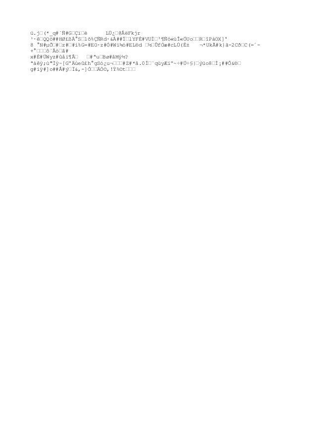 ü.jœ(*_q#`Ñ#GœÇïœè LÜ¿œ@ÅëFkjr ¹·êœQQö##HØ£ßÀ°Sœlõ%ÇÑRd·&Á##͜lYFÈ#VU̜³¶Ñö«úÎ«ÓUoœœRœîPàOX]' 8 °N#µÕœ#œz#œ#í%G=#EO·z#Ó#Wì...