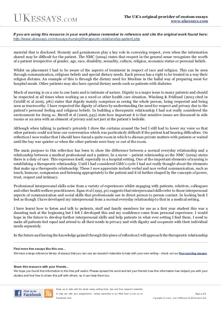 student nurse reflective essay student nurse essay on reflection rufgs mlbfan org