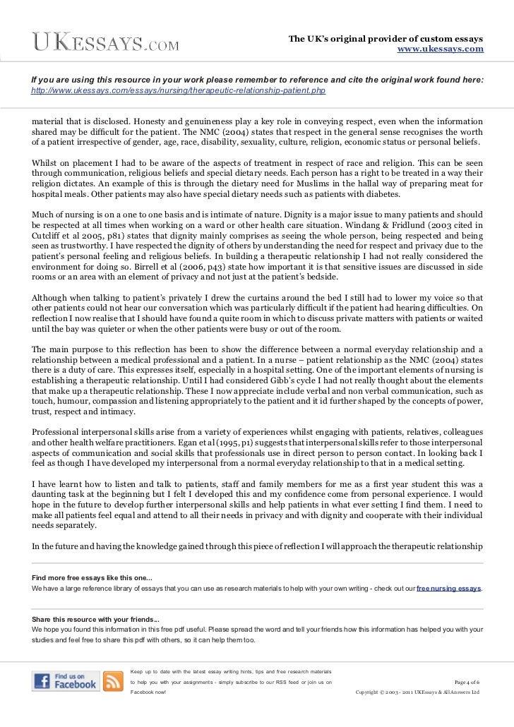 personal essay for volunteering