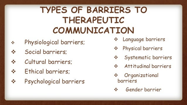 barriers to communication and solutions for barriers Communication barriers and solution education, communication and technology course code: tec 111 course title: administration and supervision of a pre-school task: a) with the aid of an appropriate diagram, describe the process of communication b) explain atleast 5 barriers of communication c) provide solutions to the barriers presented to: dr.