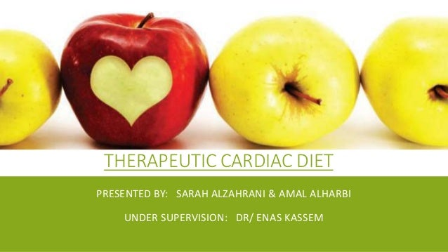 powerpoint for scared heart diet
