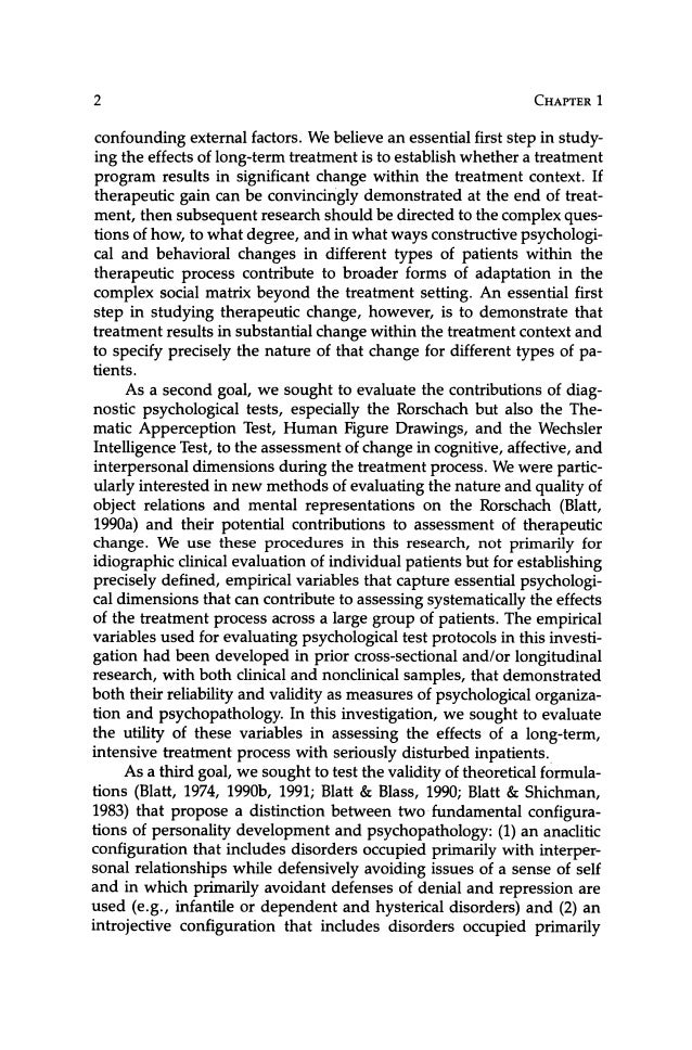 Therapeutic Change An Object Relations Perspective 1994