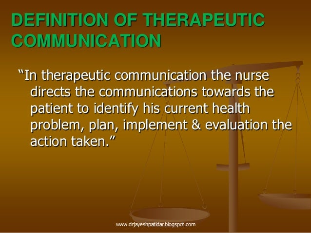 therapeutic communications Active listening: being attentive to what client is saying both verbally and nonverbally soler is part of active listening.